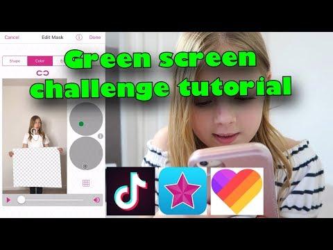 Xxx Mp4 Green Screen Challenge Tutorial 3gp Sex