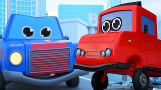 FUNNY CARTOON CARS FOR KIDS SUPERCAR SUPERHEROES