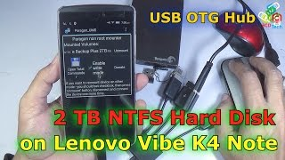 OTG Devices on Lenvo Vibe K4 Note: OTG & USB HUB