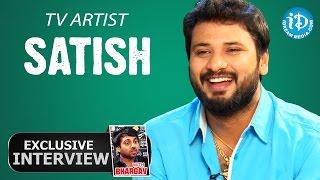 TV Artist Satish Exclusive Interview || Talking TV With iDream # 03