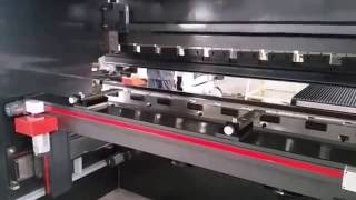 Masteel press brake with sheet follower and 4 axis back gauge