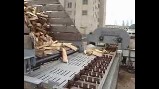 Fire wood pack machine. Wood pack. Pack fire wood.