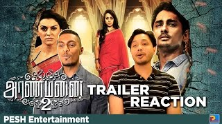 Aranmanai 2 Trailer Reaction & Review | PESH Entertainment