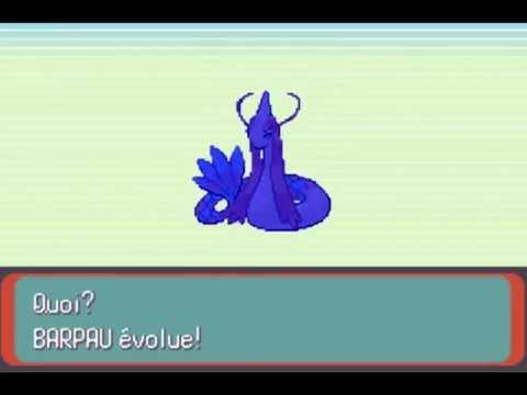 [Pokemon Emeraude] Pêcher Barpau et évoluer en Milobellus