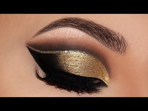 ⭐ Cut Crease Glam New Years 2016 | Party Makeup Tutorial | Melissa Samways ⭐
