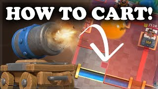 How to Use & Counter Cannon Cart | Clash Royale