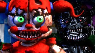 THE NIGHTMARE FUNTIME ANIMATRONICS RETURN.. IN A NEW LOCATION | Baby