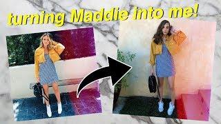 Doing Maddie Ziegler's Makeup| Summer Mckeen