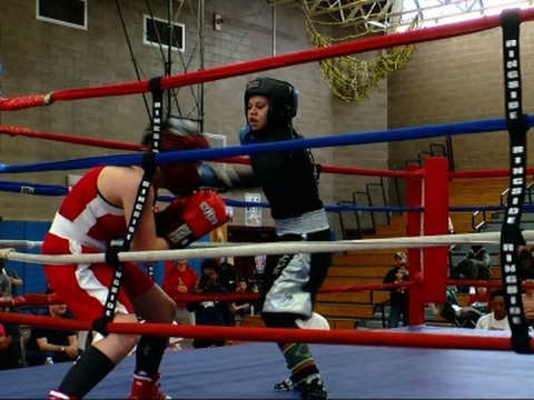 Xxx Mp4 Teen Boxer Wins Fight To Compete Wearing A Hijab 3gp Sex