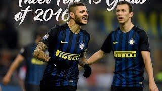 Inter: Top 15 Goals of 2016