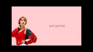 AOA (에이오에이) GOOD LUCK HAN/ENG/ROM Color Coded Lyrics 가사