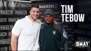 Tim Tebow Speaks on Avoiding Thots + Raps Live on Sway in the Morning | Sway's Universe