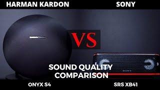 Sony SRS XB41 Vs Onyx Studio 4 - Sound Quality Comparison