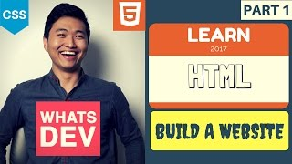 Learn HTML 2017 #1: Intro | Complete HTML Course Tutorial