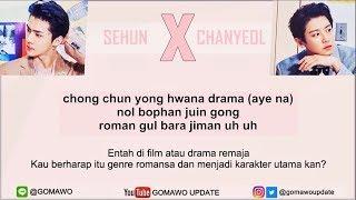 Easy Lyric CHANYEOL & SEHUN 'EXO' - WE YOUNG by GOMAWO [Indo Sub]