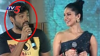 Sunny Leone Funny Conversation With Anchors | PSV Garuda Vega Pre Release Event | TV5 News