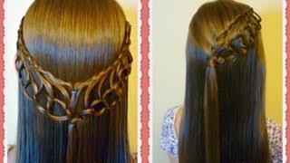 Feather Chain Braid Hairstyles, Hair4myprincess