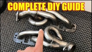 The Complete Shorty Header Install Guide for a Dodge RAM 1500