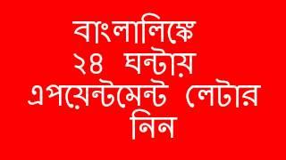 ★ বাংলালিঙ্কে ২৪ ঘন্টায় জব নিন - Banglalink Job Circular NEW