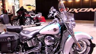 2017 Harley Davidson Heritage Softail Classic Limited Walkaround Review Look in HD