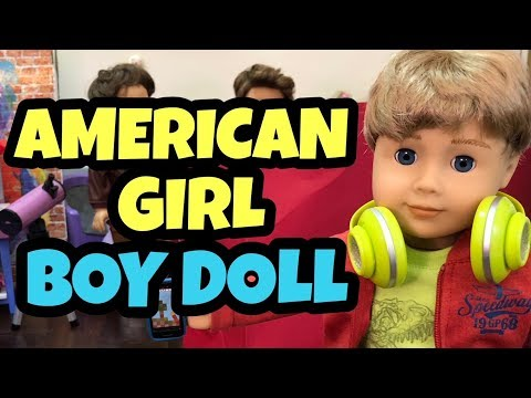 New American Girl Boy Doll - Help Me Name Him