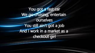 Jonas Blue - Fast Car ft. Dakota LYRICS