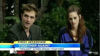 Kristen Stewart, Robert Pattinson Entertainment Tonight Interview; 'Twilight' Stars on Sequel