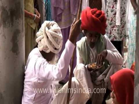 Bhoj at Nana village, Rajasthan