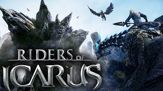 DRAGON RIDING MMORPG | Riders Of Icarus (Gameplay Part 1)