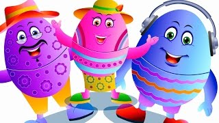 Surprise Eggs Finger Family And Many More - Nursery Rhymes Collection - Jam Jammies Kids Songs