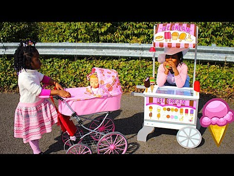 Xxx Mp4 TOYS AndFun Sisters PLAY WITH ICE CREAM CART Pretend Play Video For Kids 3gp Sex