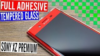 InvisShield True Fit Full Adhesive Screen Protector for Sony Xperia XZ Premium