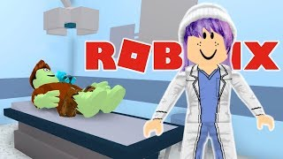 HALLOWEEN COSTUME DIY DISASTER IN ROBLOX | HOSPITAL ROLEPLAY