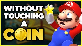 Is it possible to beat the Superstar Road in New Super Mario Bros. U without touching a single coin?