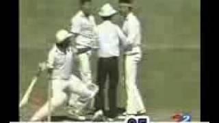 Dhakawap com Cricket Fights Javed Miandad Power