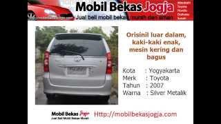 Jual Murah Toyota Avanza Tahun 2007 - Mobil Bekas Jogja