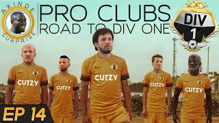 FIFA 18 PRO CLUBS | ROAD TO DIVISION ONE (Ep 14) - PROBABLY MY FAULT