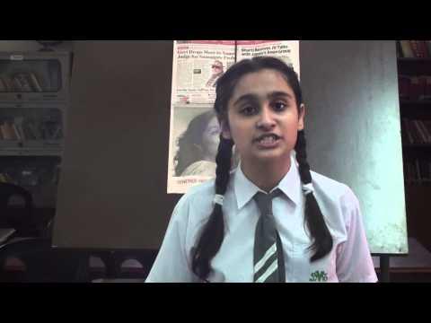 English Debate Competition, St. Mark's Public School, Janak Puri