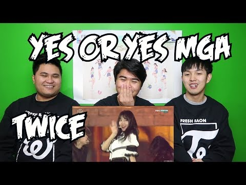 TWICE - MGA YES OR YES REACTION (TRUE ONCES)