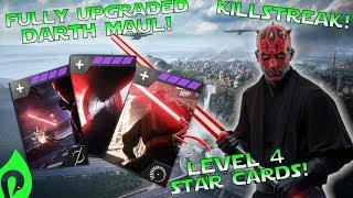 Star Wars Battlefront 2: Fully Upgraded Darth Maul Gameplay/Streak!!!