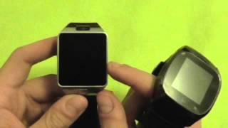 Comparison Smartwatch DZ09 and Rwatch M26