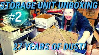 Storage Unit Finds 27 Years Old Vintage Unboxing #2 | Unpaid & Bought In Foreclosed Auction