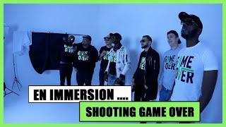 Shooting photo GAME OVER avec Vald, Mhd, Ninho, Naza, Keblack, Dabs, Rk, Salva, Glk, Landy