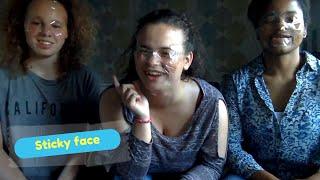 Sticky Face!