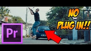 How to Smooth Slow Motion, 30 fps to 60 fps, WITHOUT PLUG IN!! - Premiere Pro TUTORIAL