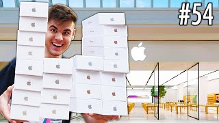 Buying As Many IPHONES As I Can! - Challenge ($100,000)