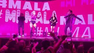 """Mi Mala en vivo con caída de Karol G """"Las Vegas"""""""