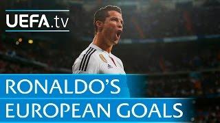 Cristiano Ronaldo - 96 European goals