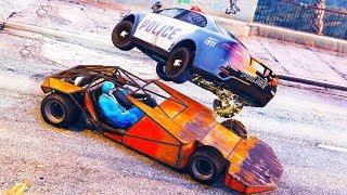 Wir SCHLEUDERN Autos durch die Welt von GTA ONLINE!