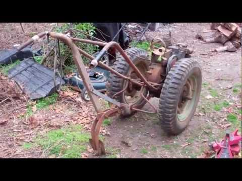 1951 David Bradley walking tractor